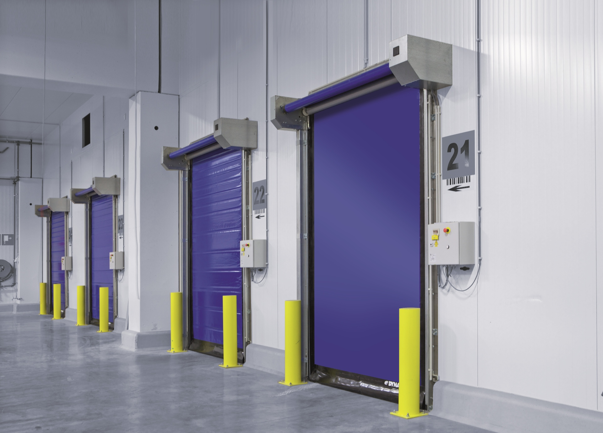 Project navigation & Rapid Roll - High Speed Doors