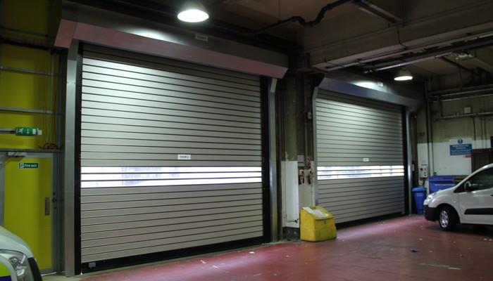 Author HS Doors & Dynaco S-631 rigid high speed doors in London - High Speed Doors