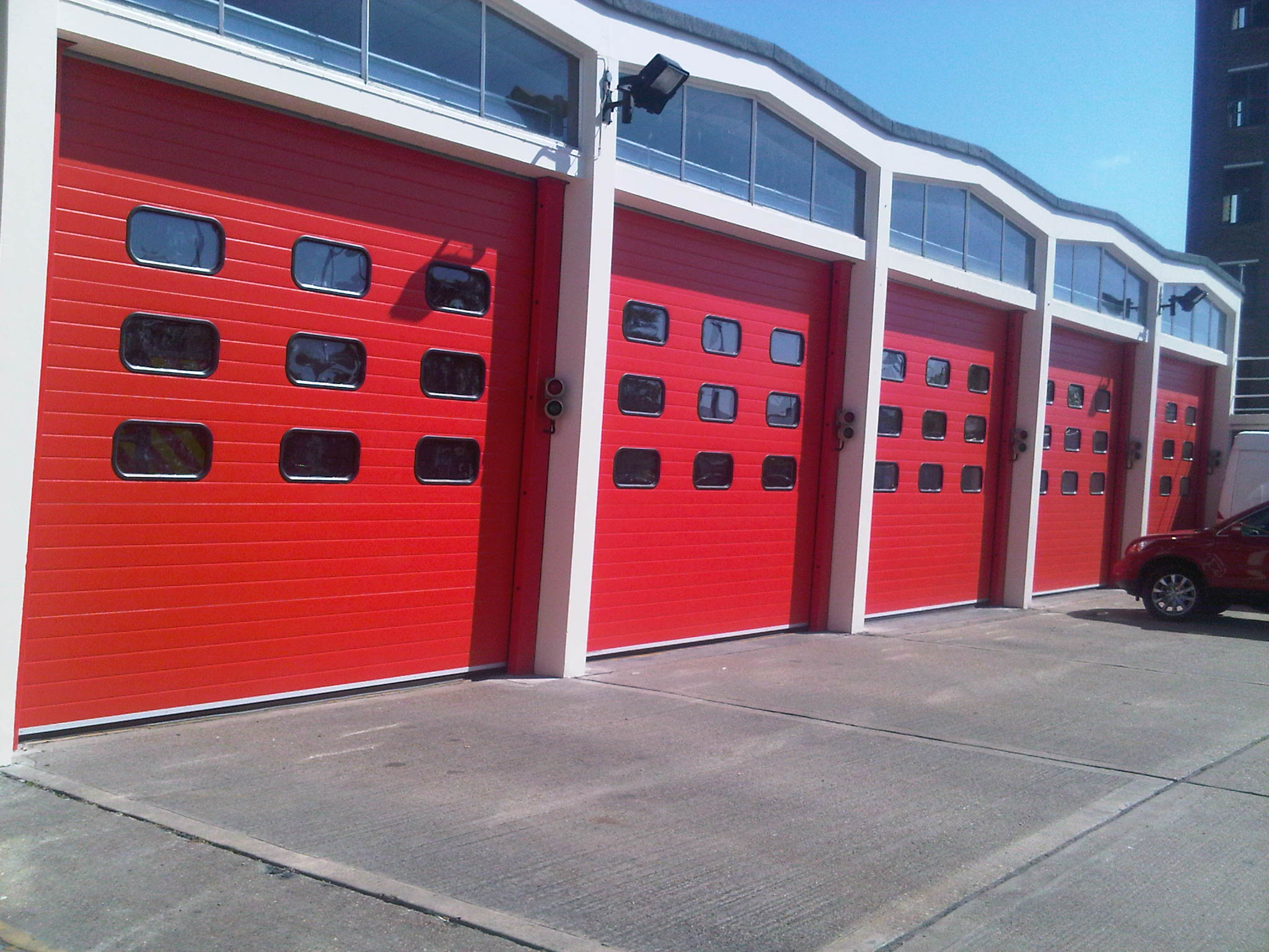 Essex County Fire Station Door Installation High Speed Doors